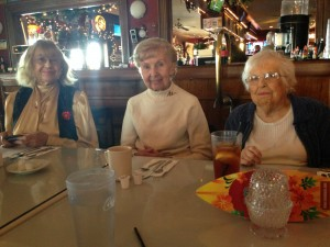 Some of our friends enjoy a group luncheon at the Anchorage Tavern in Somers Point, NJ